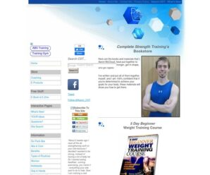 Complete Strength Training Bookstore